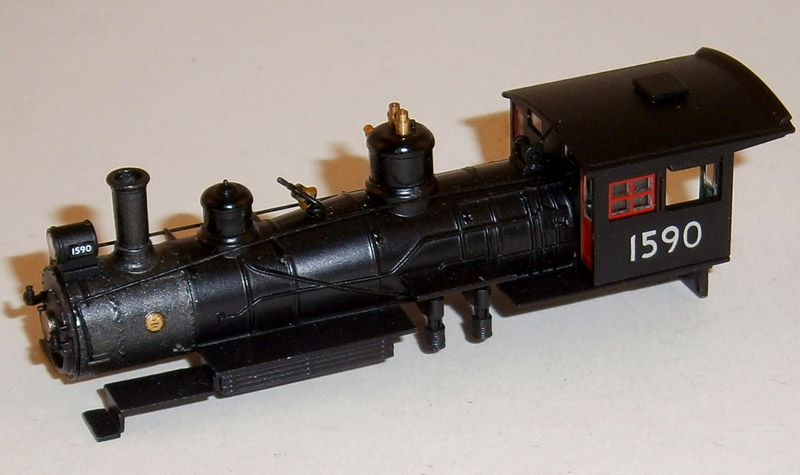 LOCO BODY SHELL (4-6-0) (N Scale) U.P.