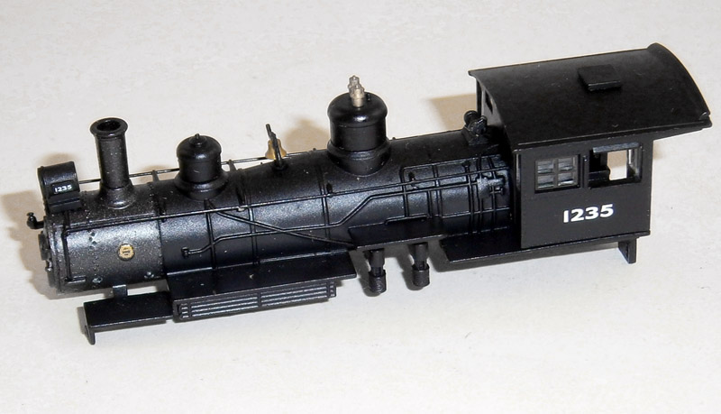 LOCO BODY SHELL (4-6-0) (N Scale) NYC