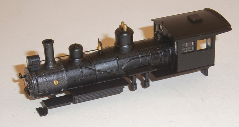 LOCO BODY SHELL (4-6-0) (N Scale) PNTD UNLTD