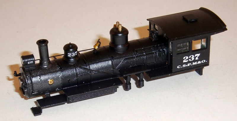 LOCO BODY SHELL (4-6-0) (N Scale) NORTH WESTERN