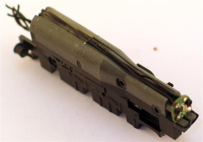 CHASSIS (4-6-0) (N Scale)