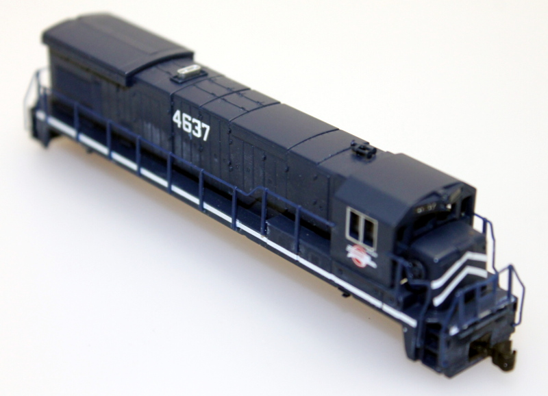Body Shell - Missouri Pacific #4637 (N B23-7/B30-7)