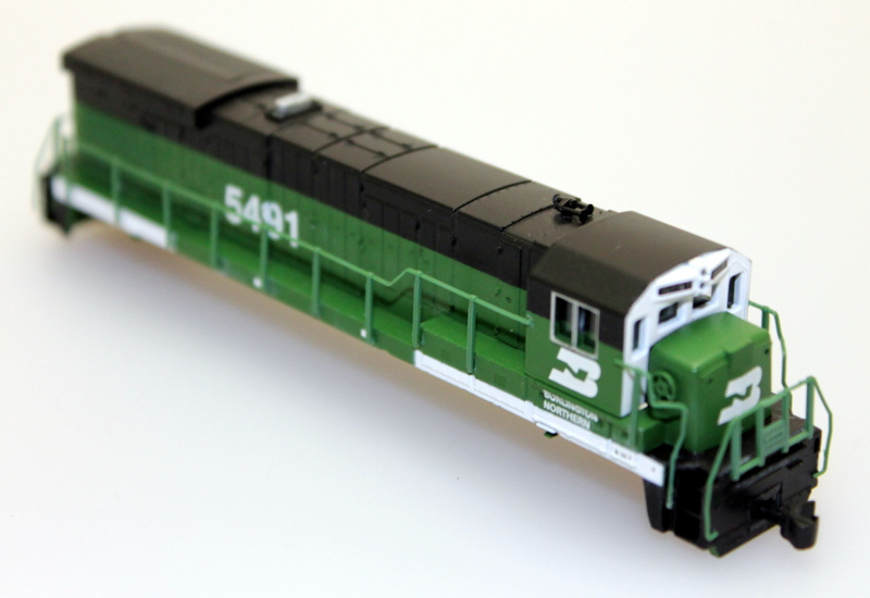 Body Shell - Burlington Northern #5491 (N B23-7/B30-7)