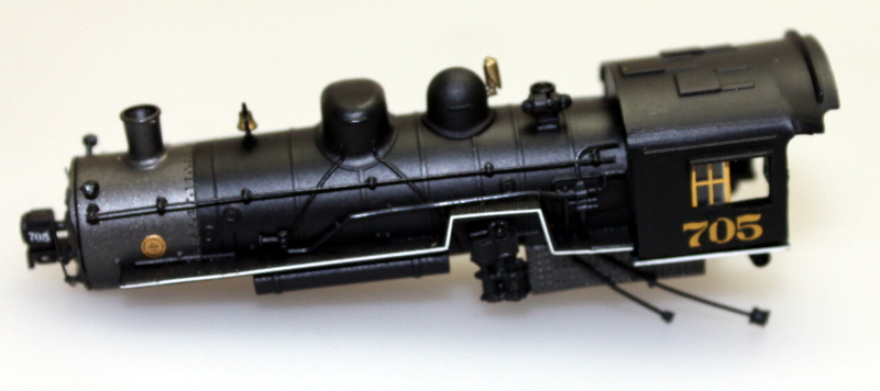 Loco Shell - Assorted (N Scale 2-8-0)