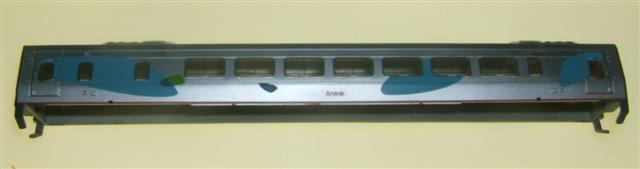 Body Shell (N Acela Power Car)
