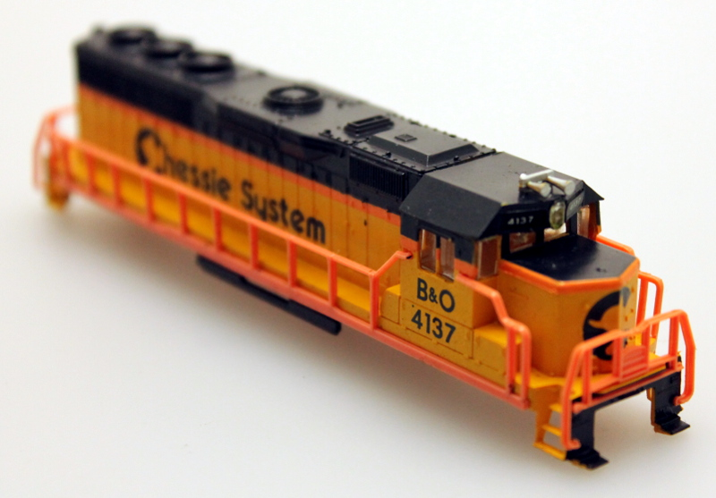 Body Shell - Chessie System B&O #4115 (N GP40)