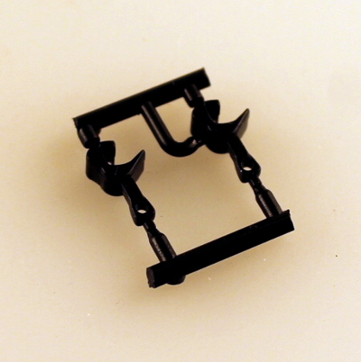 Knuckle Coupler - Medium Shank/pair (N Scale Universal)