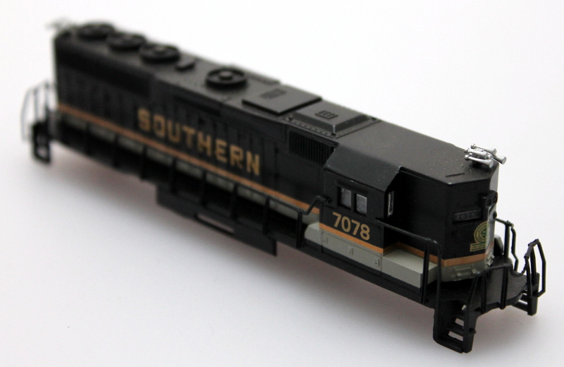 Body Shell - Southern #7078 (N GP50)