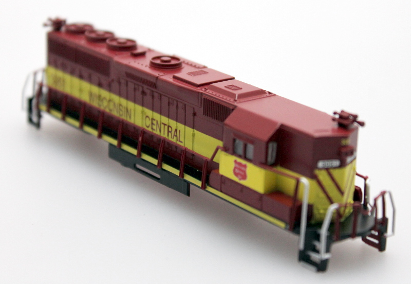 Body Shell - Wisconsin Central #3051 (N GP50)