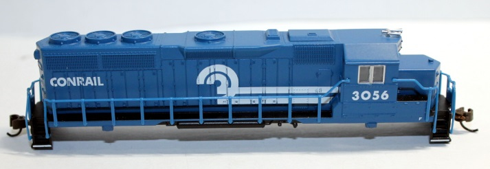 Body shell- Conrail #3056 ( N GP40 )