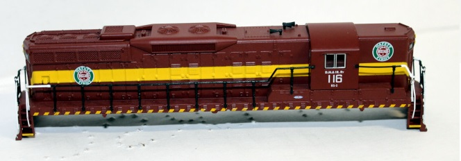 Shell-DM&IR #116 ( N scale SD9 sound )