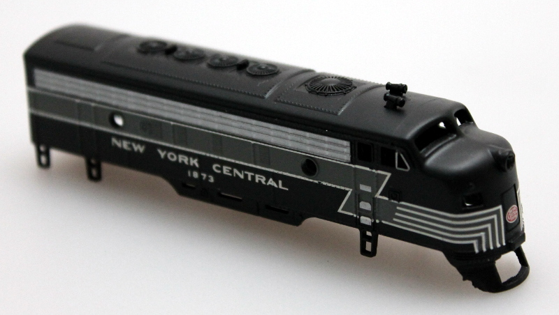 Body Shell A Unit - New York Central #1873 (N scale F7A)