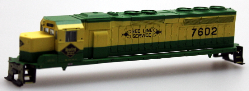 "Body Shell - Reading ""Bee Line"" (N SD-45)"