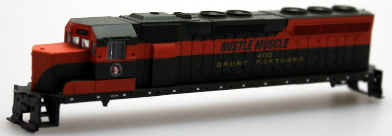 "Body Shell - Great Northern ""Hustle Muscle"" (N SD-45)"