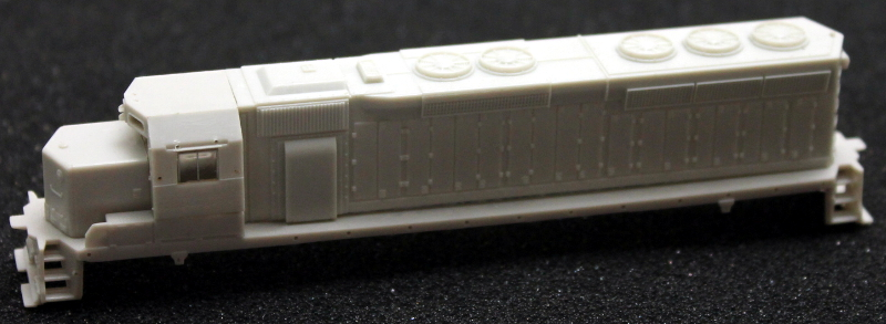 Body Shell - Undecorated (N SD-45)