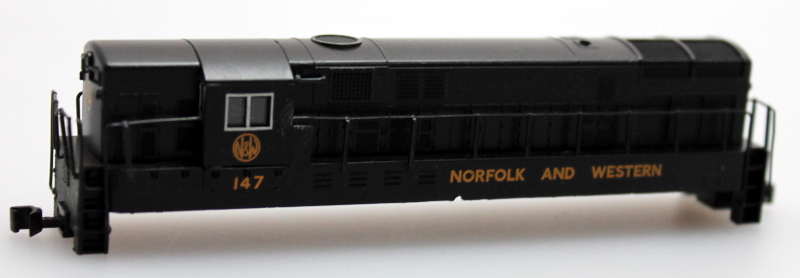 Body Shell - Norfolk & Western (N H16-44)