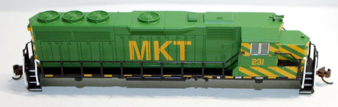 Body Shell- MKT #231 ( N GP40 )