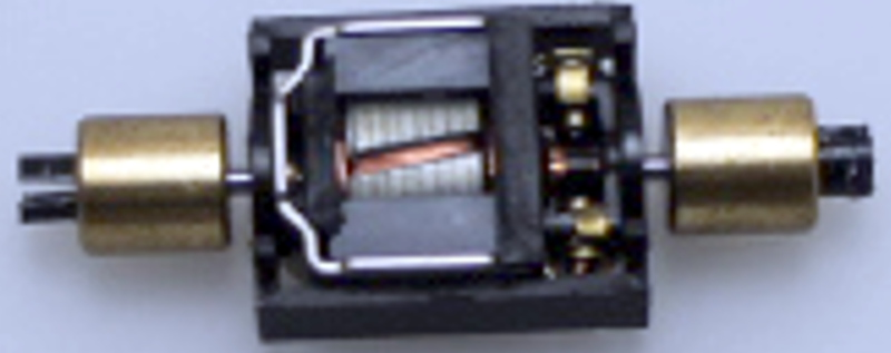 Motor w/ Holder - 2nd generation (N Scale Dash8-40C)