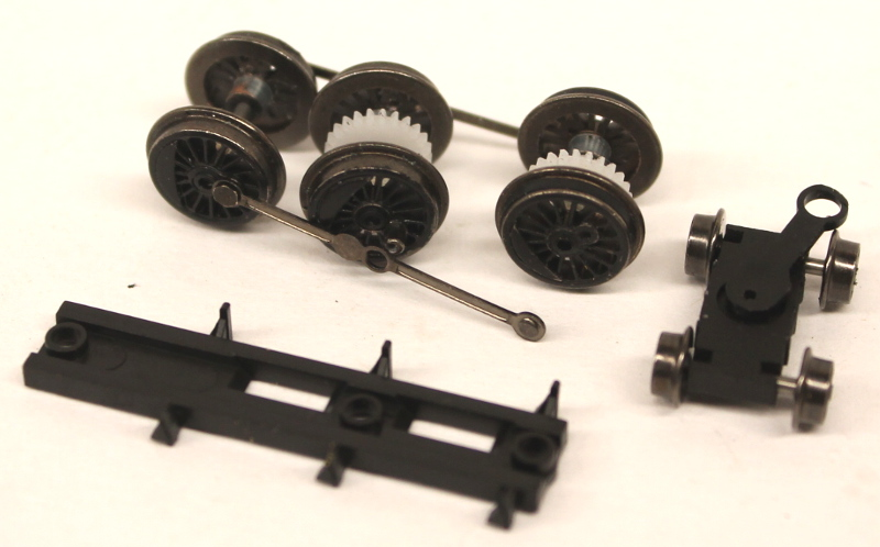 Drive Wheels & Pilot Truck Assembly (N 4-6-0)