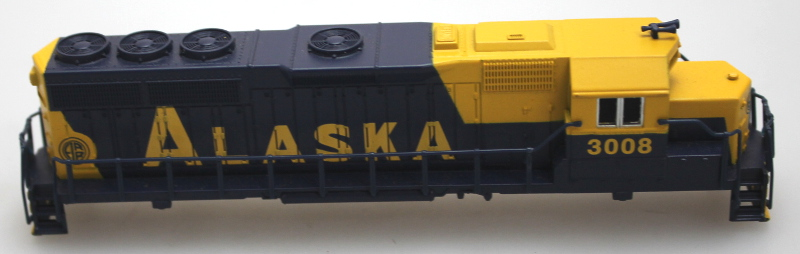 Body Shell - Alaska #3008 (N GP40)