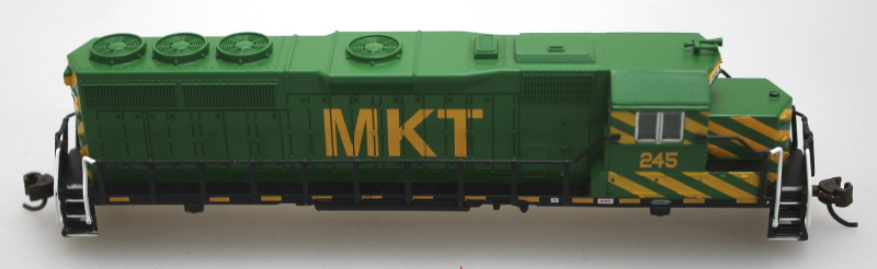 Body Shell - MKT #245 (N GP40) - Click Image to Close