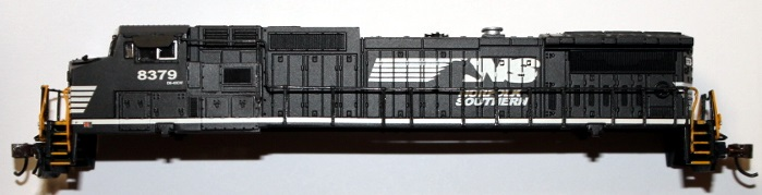 Norfolk Southern shell ( N Scale ) Dash8-40CW