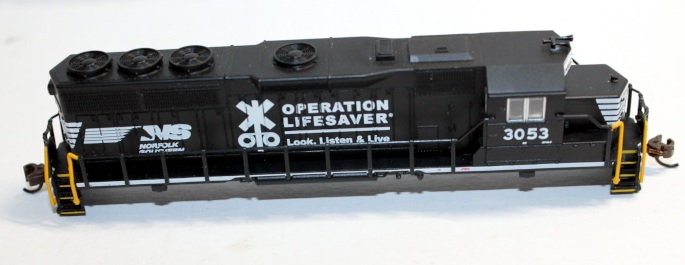 Body Shell- Norfolk Southern OLS #3053 ( N GP40 )