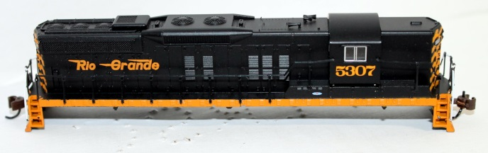 Shell-D&RGW #5307 ( N scale SD9 sound )