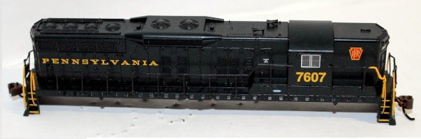 Shell-PRR #7607 ( N scale SD9 sound )